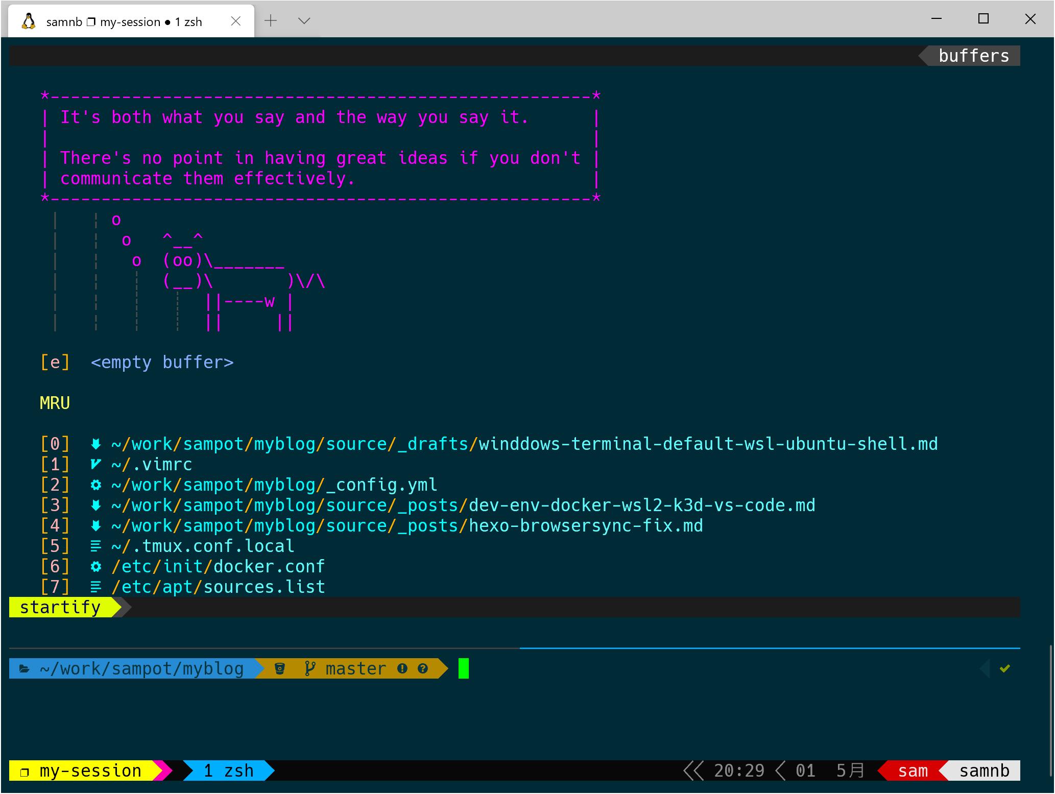 設定 Windows Terminal 作為 WSL 操作介面
